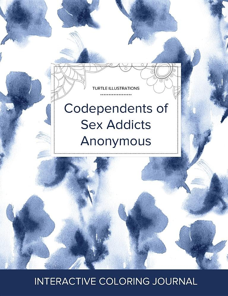 Read Online Adult Coloring Journal: Codependents of Sex Addicts Anonymous (Turtle Illustrations, Blue Orchid) pdf