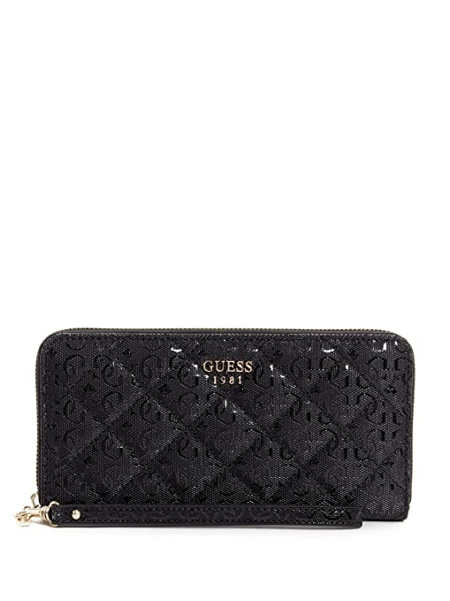 GUESS Seraphina SLG Large Zip Around Black: Amazon.es: Equipaje