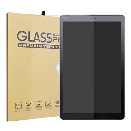 Samsung Galaxy Tab S4 10 5 T835 2018 Tempered Glass Screen  Protector,LiuShan HD Clear Scratch-Resistant 9H Hardness Film for 10 5