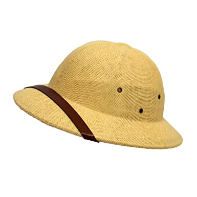 Amazon.com  Novelty Helmet Pith Straw Hats for Men VC Vietnam War Army Sun Hat  Caps Beach  Clothing 5a9bc230cad