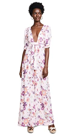 24c2147f2a4f Amazon.com: For Love & Lemons Women's Magnolia Maxi Dress: Clothing