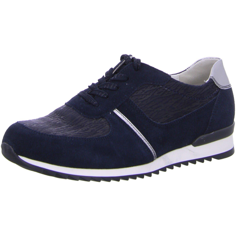 Waldläufer 370004-310-763 - Zapatos de cordones para mujer 37 EU Deepblue