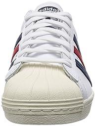 Superstar 80s: AQ4654 Running White / College Navy / Chalk White