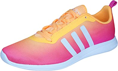 adidas Neo Cloudfoam Pure Womens Running Sneakers Fitness Shoes