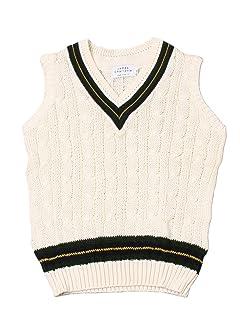 James Charlotte Cotton Cricket Vest 3306-C: Wild Oat