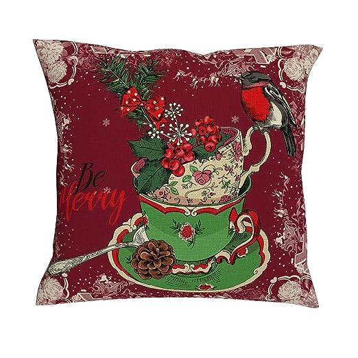 NC-83 - Funda de cojín para sofá, diseño de Gato de Merry ...
