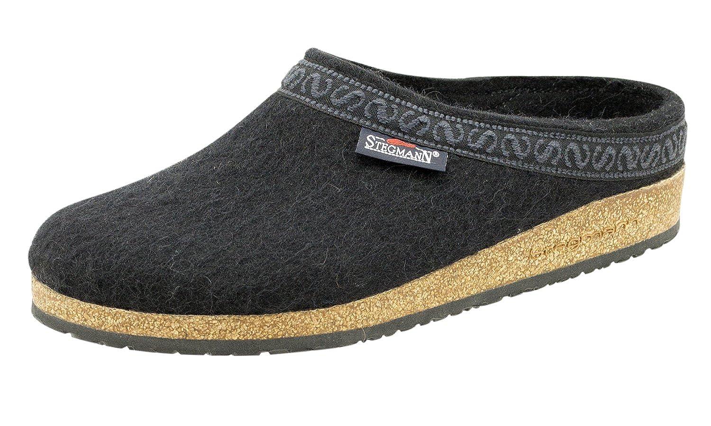Men's Wool Felt Clog With Cork Sole