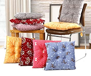 VIOY Einfarbiges Kissen Verdickung Tatami Stuhl Kissen Esszimmer Stuhl  Kissen Büro Student,Blau,Einheitsgröße