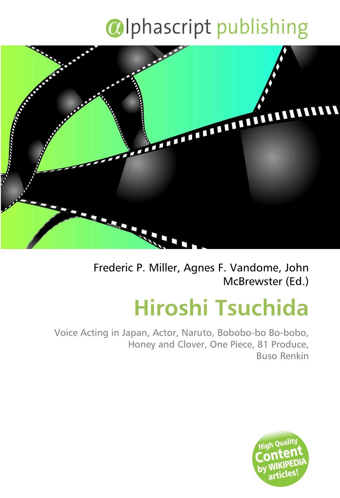 Hiroshi Tsuchida: Voice Acting in Japan, Actor, Naruto ...