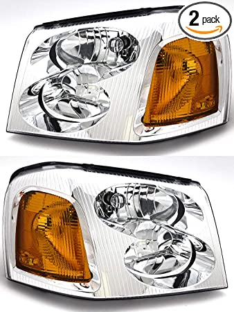 Amazon Com For Gmc Envoy Xl Xuv Headlight 2002 2003 2004 2005