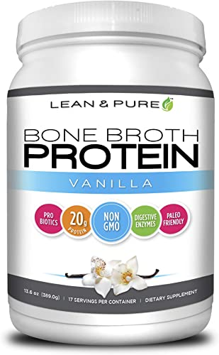 Lean Pure Bone Broth Protein Powder