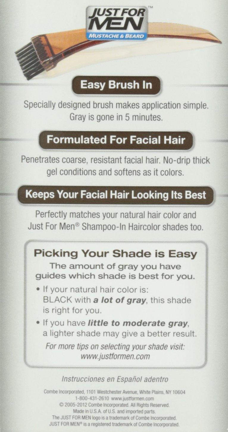 Amazon Just For Men Mustache Beard Brush In Color Gel Real