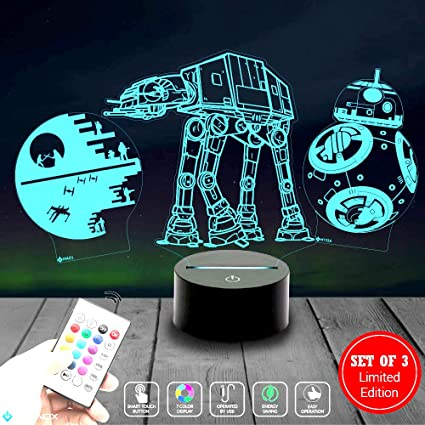 Amazon.com: Holinox Variation Starwars, Star Wars: Toys & Games