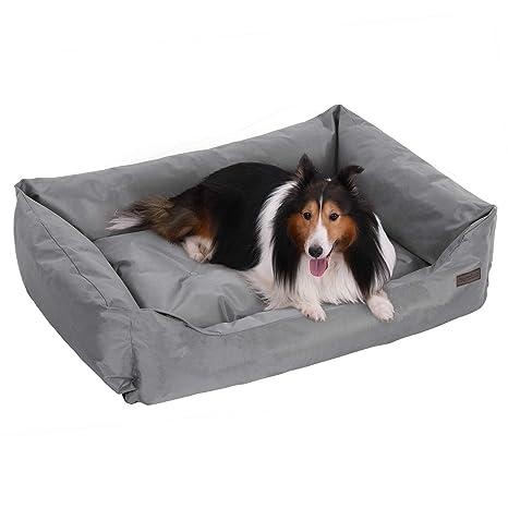 FEANDREA XXL Cómoda Cama para Perros, Perrera, Sofa para Perros, 100 x 70 cm PGW28G
