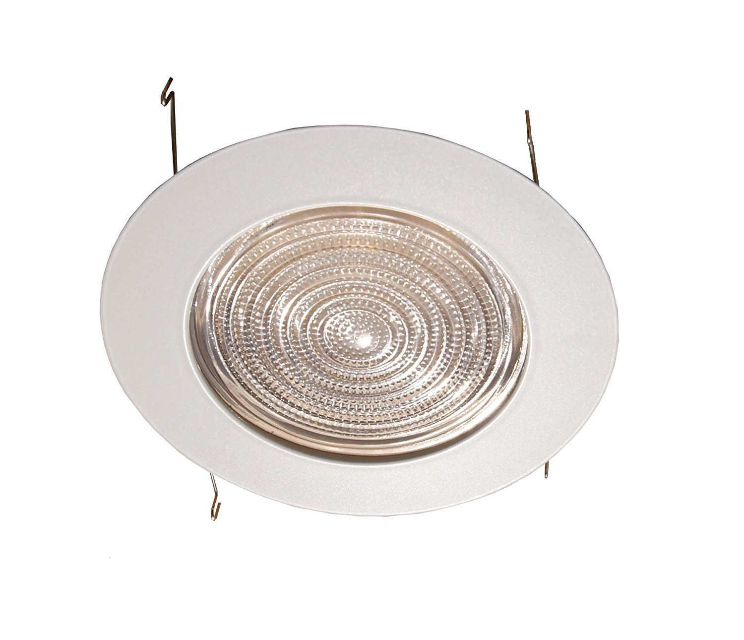 Wac lighting hr hl 4 low voltage new construction housing recessed can light - 6 Inches Fresnel Lens Shower Trim For Recessed Light Lighting Fits Halo Juno Recessed Light Fixture Trims Amazon Com