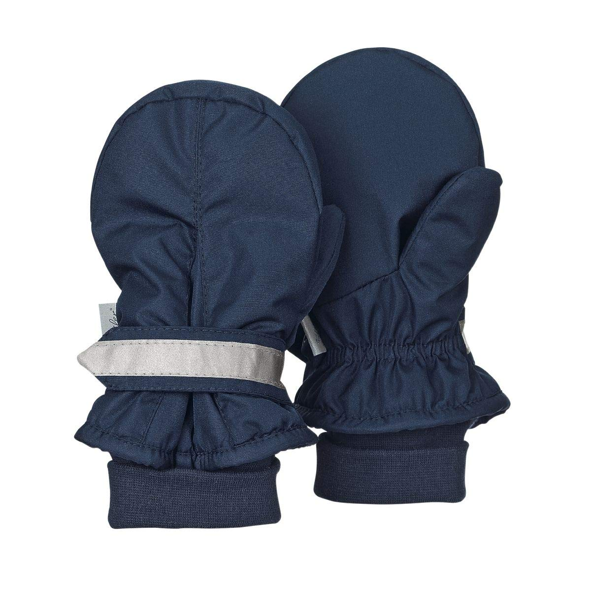 Sterntaler Baby Jungen Fausthandschuhe, Fäustlinge, Handschuhe in Fb.300 marine Fäustlinge