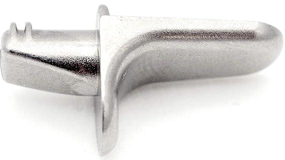 5 mm Juego de/con soporte para estantería Pin soporte acero inoxidable 50 unidades: Amazon.es: Bricolaje y herramientas