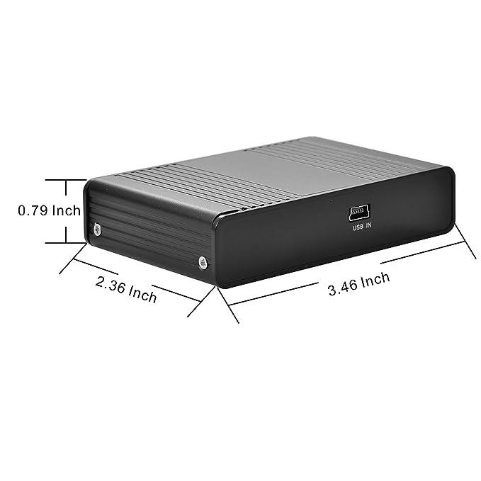 Amazon.com: Tarjeta de sonido, tarjeta de sonido externa de ...