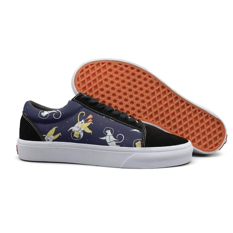 Ninja Cat Meow Warrior - Zapatos Planos para Caminar para ...