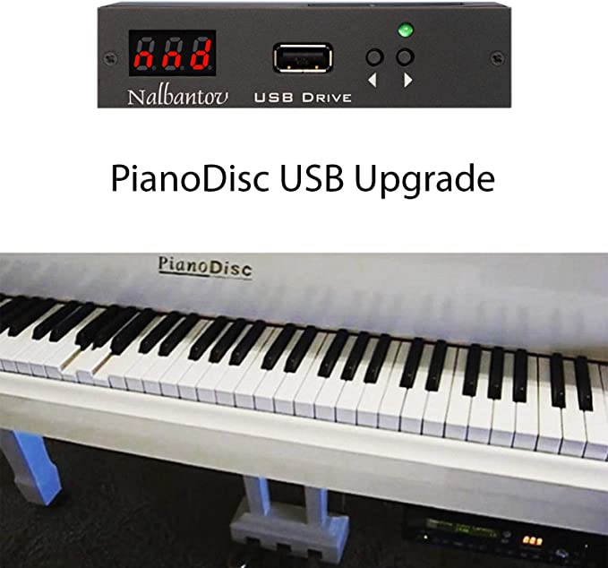 with floppy drive 77 Floppy Discs All Styles Pianodisc or Disklavier or QRS