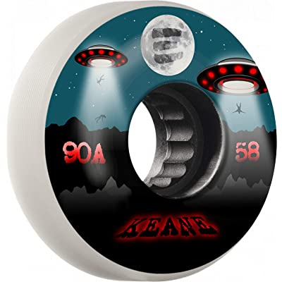 RollerBones Eulogy Pro Sean Keane Signature Wheel Abduction Aggressive Inline Wheel 58mm x 90A 4pk : Sports & Outdoors