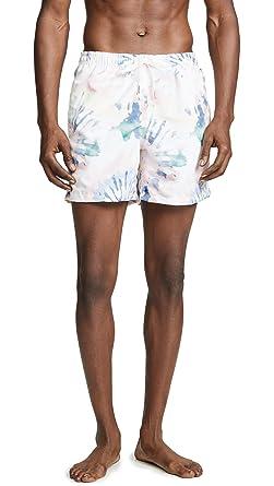 5193786c05 Bather Men's Acid Tie Dye Swim Trunks, Multi, Large | Amazon.com
