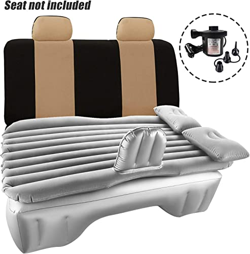 Haomaomao Car Air Mattress Travel Inflatable Back Seat Air Bed Cushion