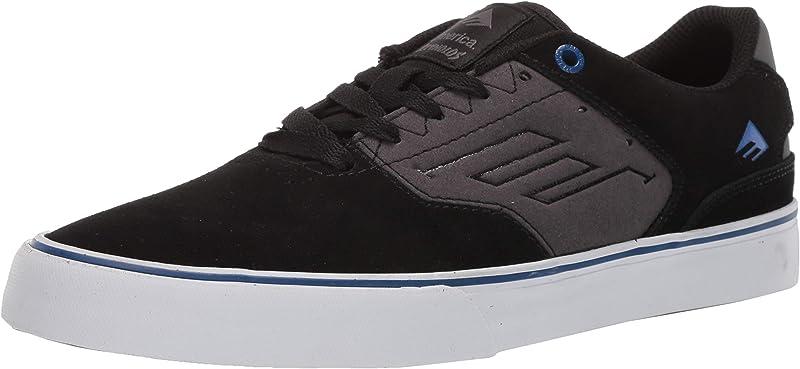 Emerica Reynolds Low Vulc Sneakers Damen Herren Unisex Schwarz/Grau/Blau