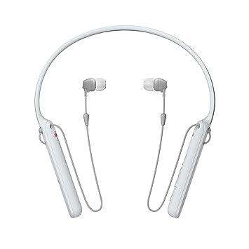 Sony WIC400 - Auriculares Neckband inalámbricos (Cable retráctil, Bluetooth, vibración Llamadas, NFC, 20 Horas de autonomía) Blanco: Sony: Amazon.es: ...