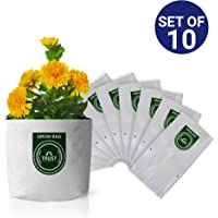 TrustBasket Small Poly Grow Bags UV Stabilized[20cms(L) x20cms(W) x35cms(H)]