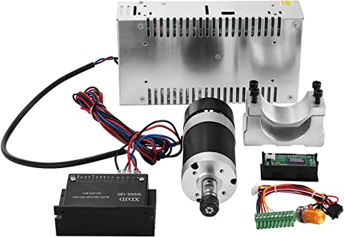 Mophorn CNC Spindle Motor 0.4kw DC Brushless Spindle Motor