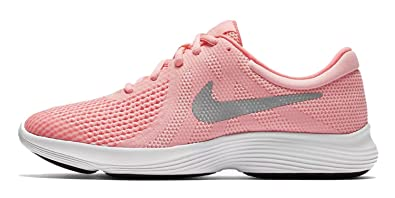 Nike Damen Revolution 4 (GS) Traillaufschuhe, Pink (Arctic Punch/Metallic Silver 600), 36.5 EU