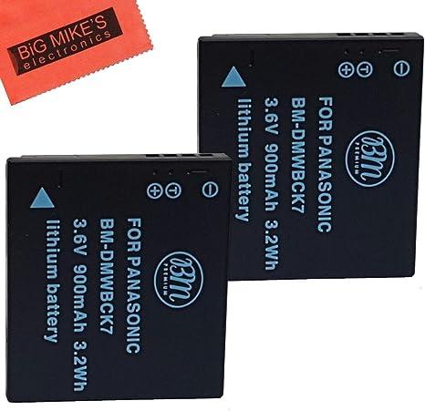 BATERIA para Panasonic Lumix dmc-sz5