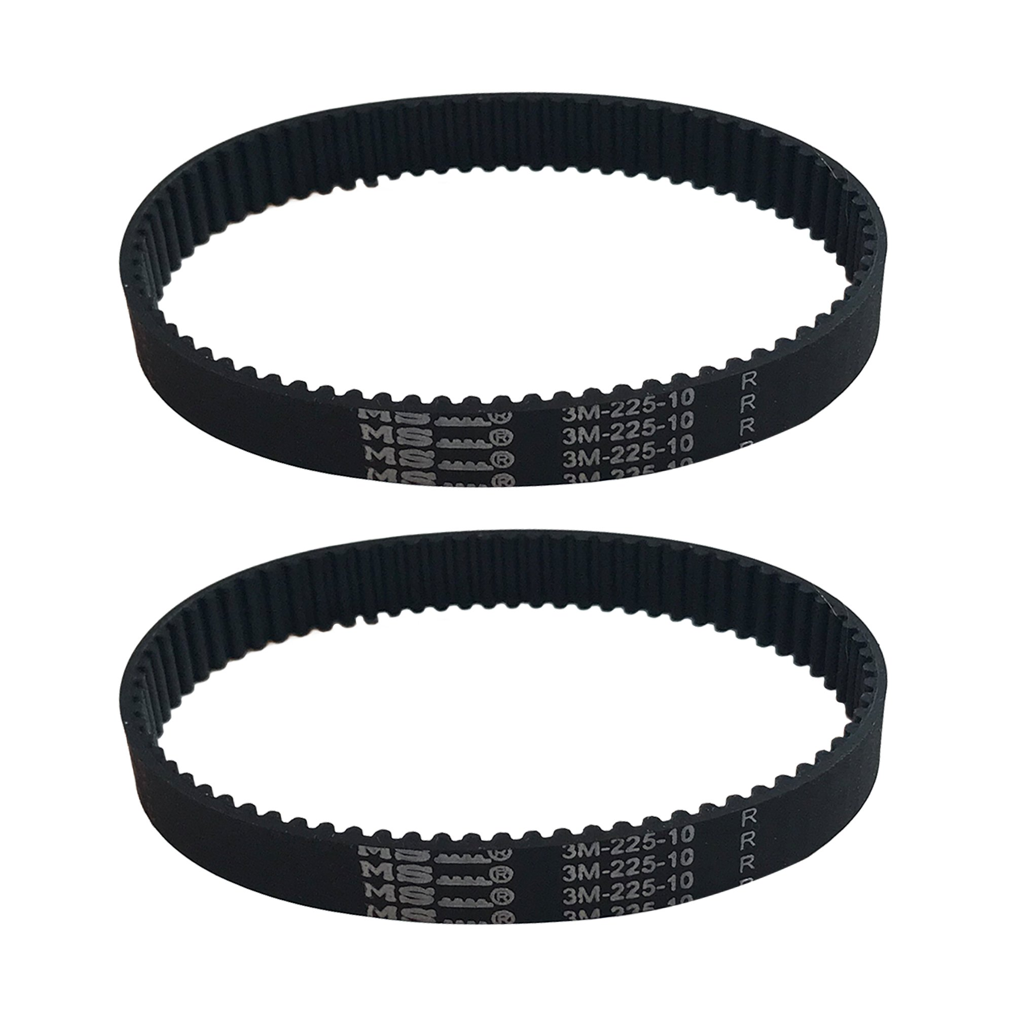 Think Crucial 2 Replacement for Dyson DC17 10-MM Geared Belts, Compatible With Part # 911710-01 & 91171001 by Crucial Vacuum