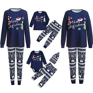 113135a6d8cab LHWY Ensembles Parent-Enfant Homewear Famille Ensemble Femmes Homme  Nouveau-Né BéBé GarçOn Fille