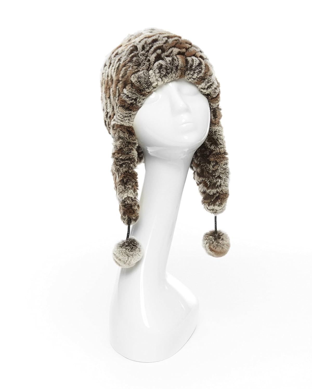 ニットレッキスファーChullo帽子  Chinchilla Brown B00AL59ZNM
