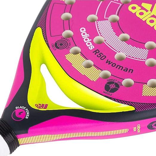 Pala de pádel de Mujer R50 Woman Adidas Padel: Amazon.es: Deportes y aire libre
