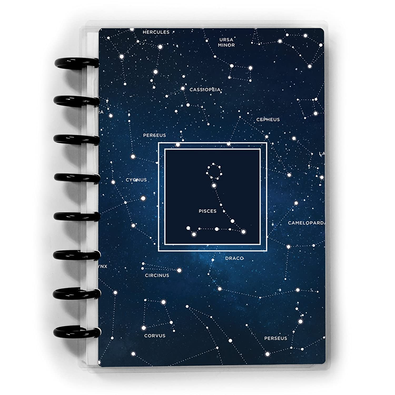 Constellations Journal | Star Sign Gift | Disc-bound or Spiral