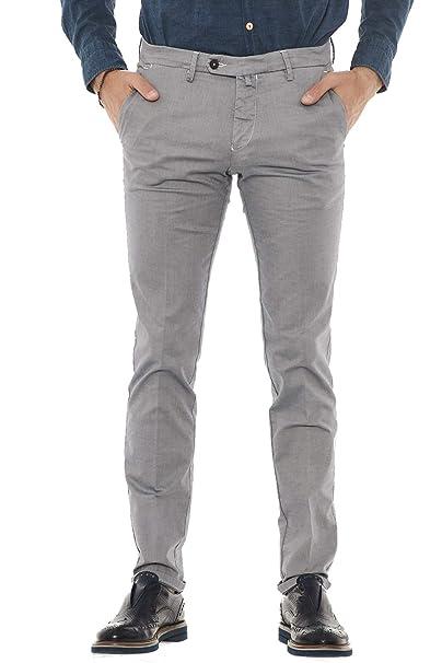 634a2f8732 MICHAEL COAL pantaloni uomo tasca america RICKY 2366 (31, Panna ...