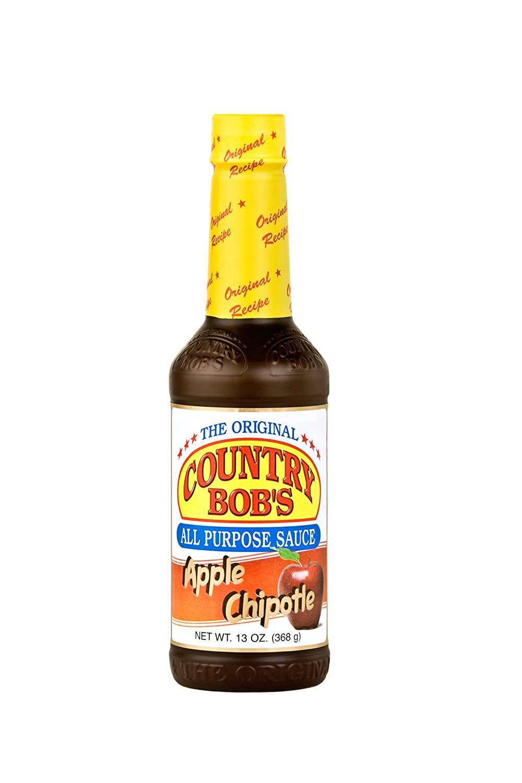 Country Bob's Apple Chipotle All Purpose Steak Sauce 13oz - 6ct