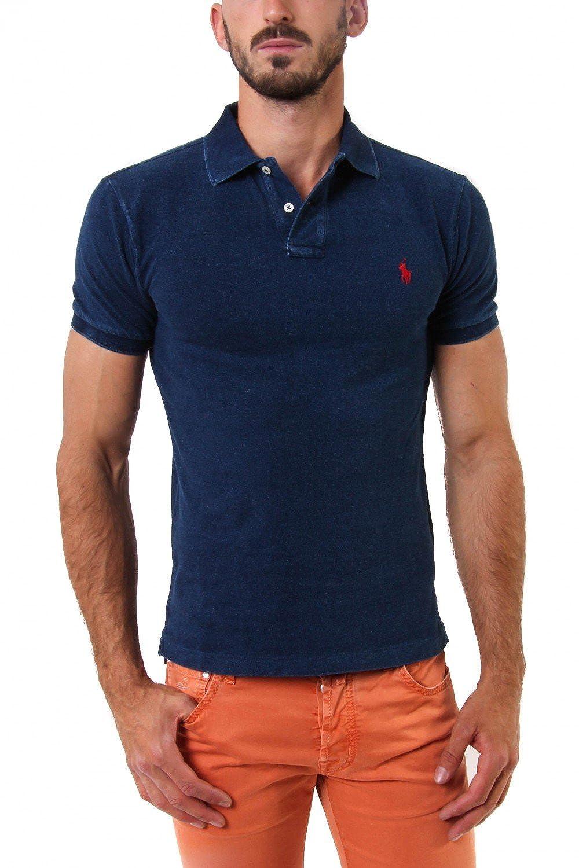 Rouge (Eaton rouge) XL Polo Ralph Lauren Polo Homme