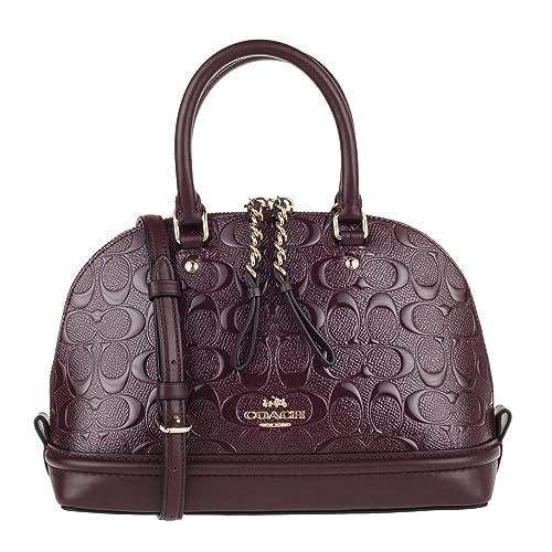 598ef98d6df1 Coach Women rsquo s Shoulder Inclined Shoulder Handbag Mini Sierra Satchel  Purse  Amazon.ca  Shoes   Handbags