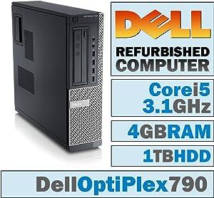 Dell OptiPlex 790 DT/Core i5-2400 @ 3.1 GHz/4GB DDR3/1TB HDD/DVD-RW/No OS