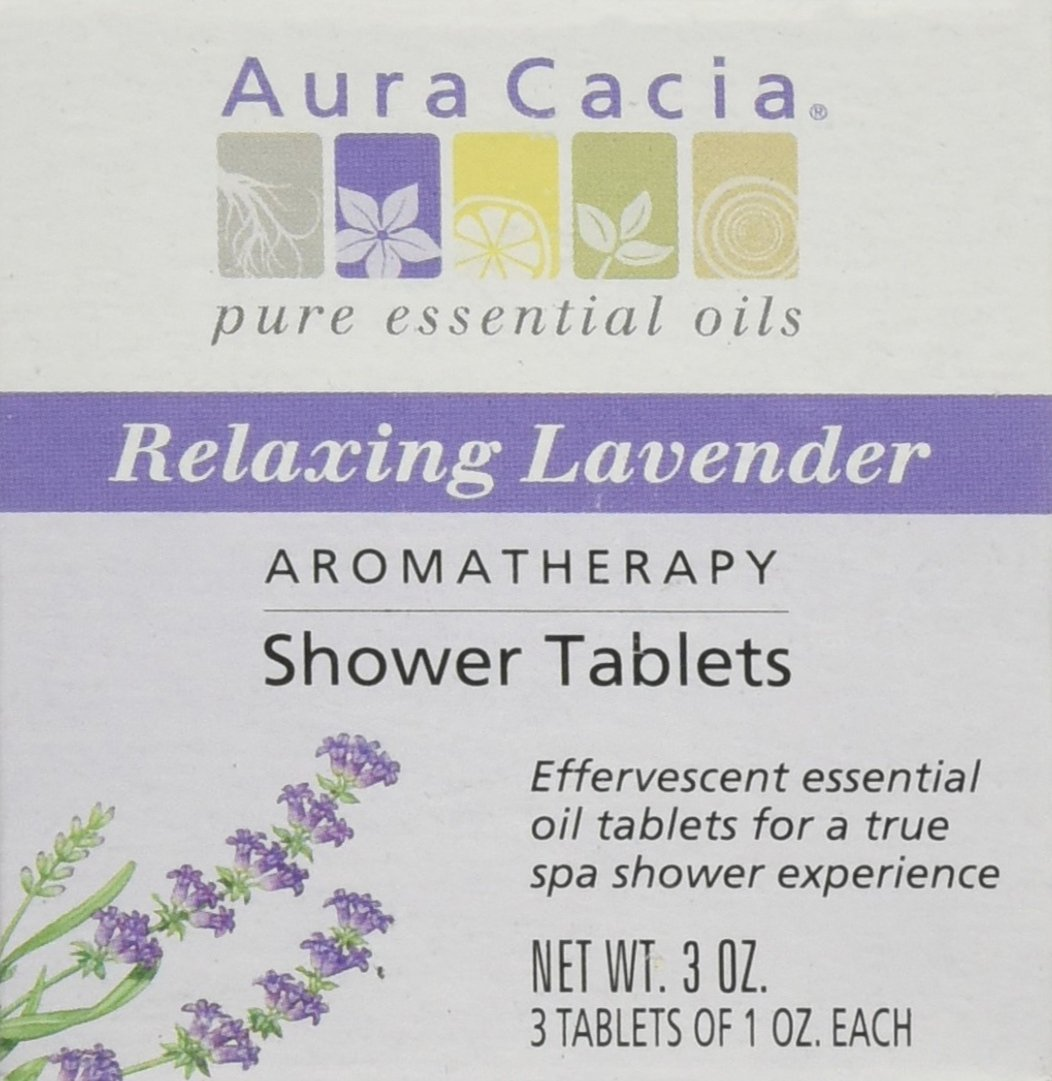 Aura Cacia Lavender Shower Tablets 90 ml UNFI - Select Nutrition WNR-021