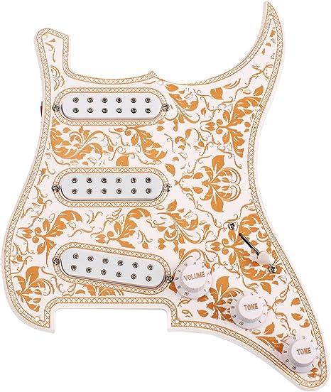 ROSENICE Guitarra eléctrica golpeador Piezas y repuestos para ...
