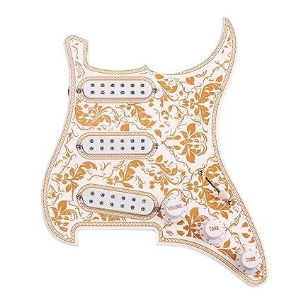 ROSENICE Guitarra eléctrica golpeador Piezas y repuestos para guitarras eléctricas