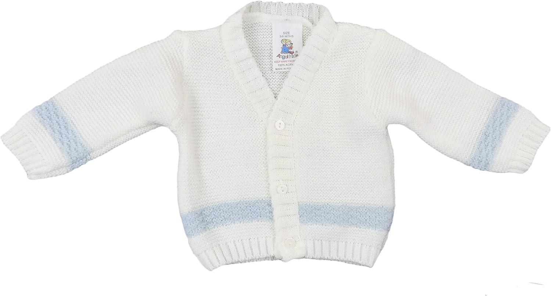 The Pyjama Party Baby Matinee Jacket Cardigan Bolero Knit Wear Cream Or Pink Unisex Boy Girl