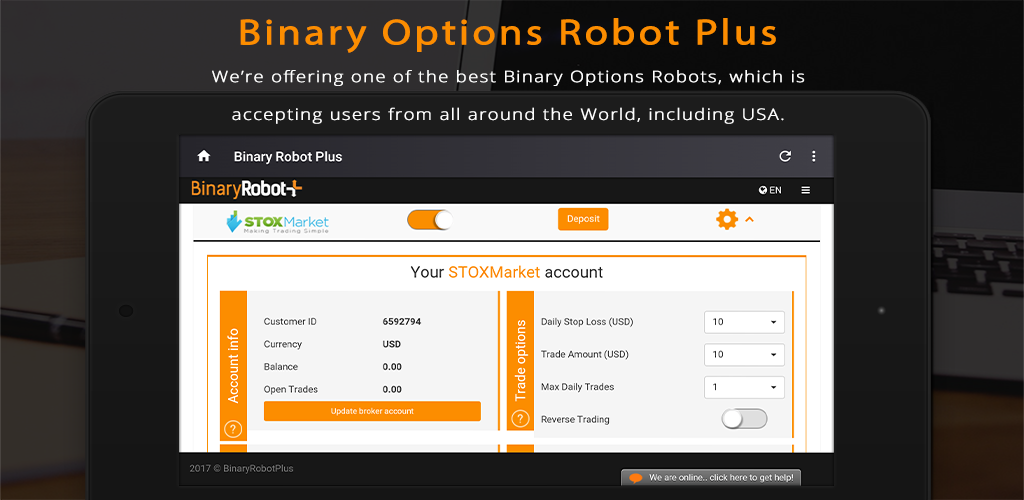 Binary options robot tutorial cara untung main forex