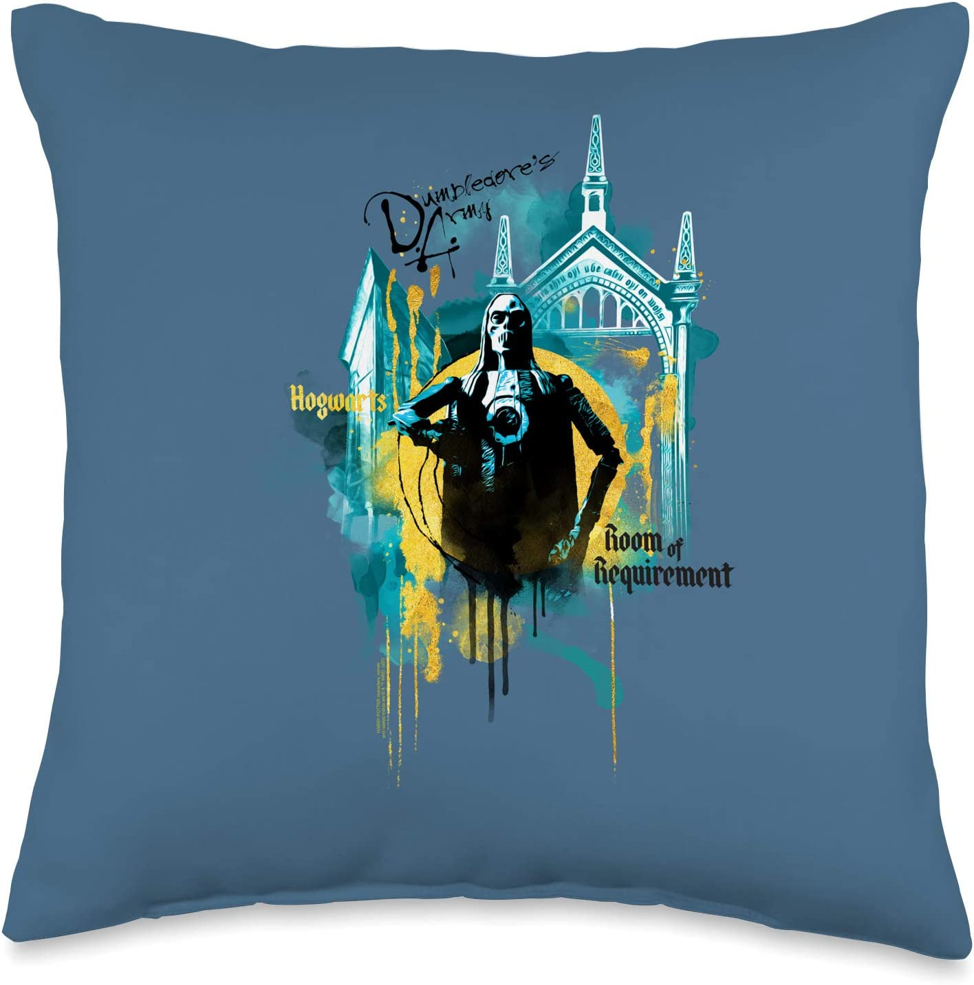 Harry Potter Urban Elegance Room of Requirement Throw Pillow, 16x16, Multicolor