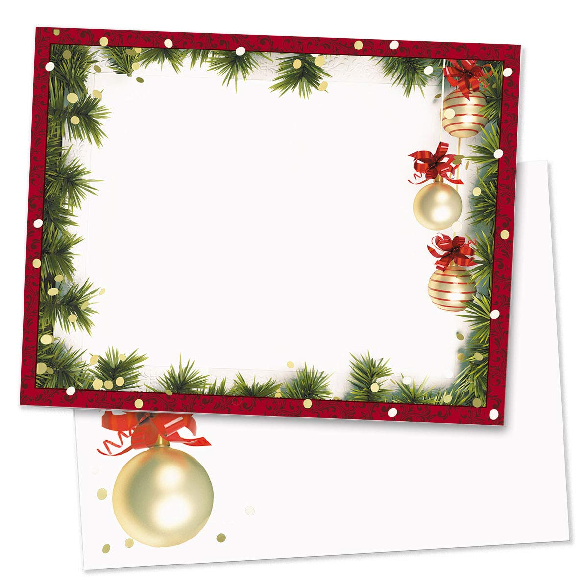Christmas Twilight Postcards, Standard Size, 400 Count by PaperDirect